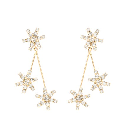 Star Droplet earrings