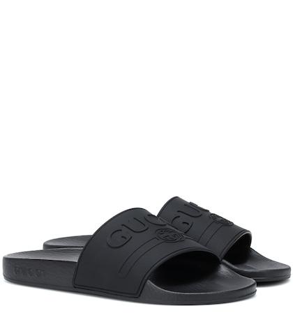 ca550e594c45c Double G Leather Sandals - Gucci | mytheresa.com