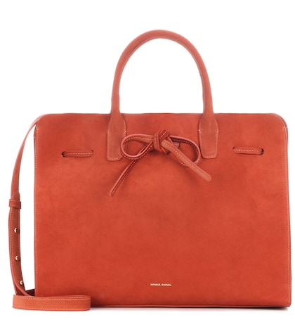 Sun Large suede tote