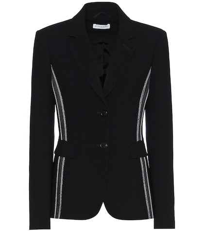 altuzarra female fenice embroidered blazer