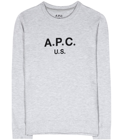 apc female cottonjersey sweater