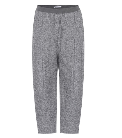 agnona female cropped alpacablend trousers