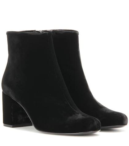 Babies 70 Velvet Ankle Boots