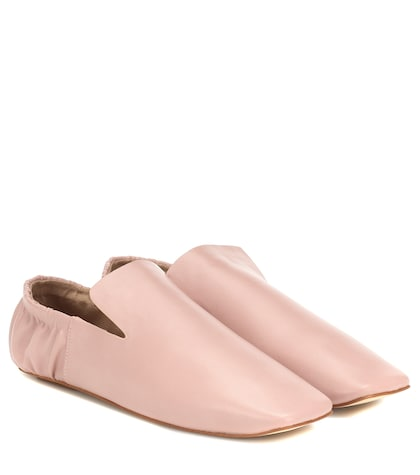 Noa faux leather loafers