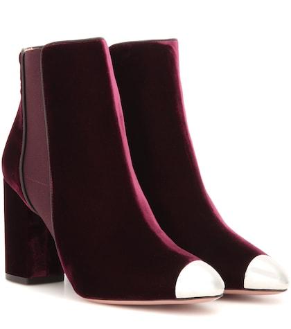 Nova Bootie 85 Velvet Ankle Boots