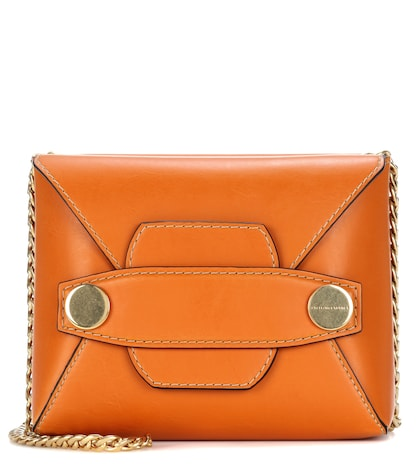 Stella Popper Small faux-leather shoulder bag