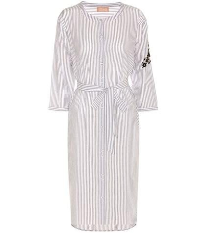 Fawn striped dress