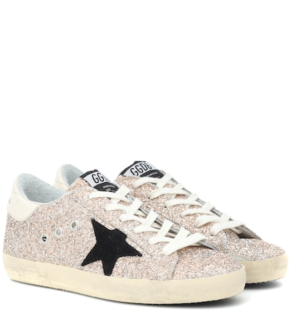 Exclusive to Mytheresa – Superstar glitter sneakers