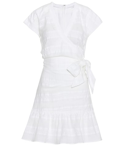 veronica beard female cotton dress