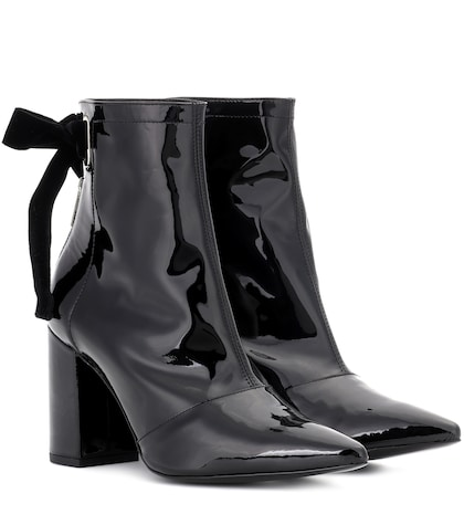 x Clergerie Karli patent leather ankle boots