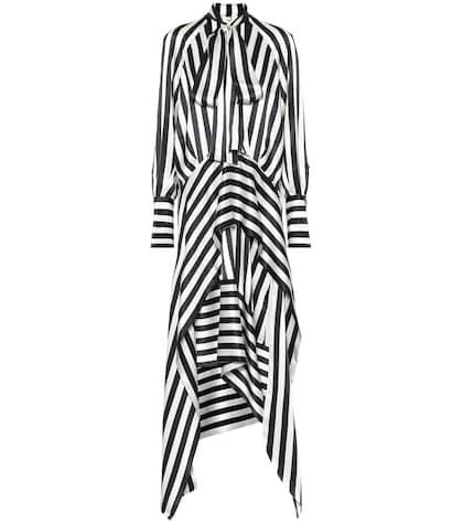 Duscha silk satin dress