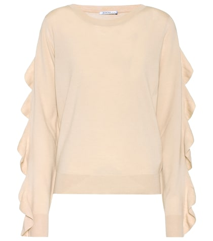 agnona female ann knitted wool sweater