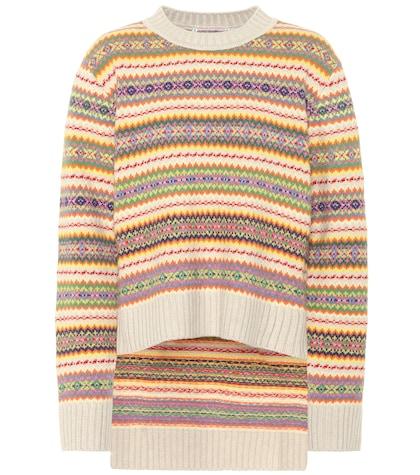 Striped wool sweater