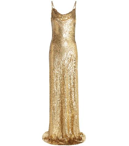 michael kors female 220183 metallic fil coupe dress