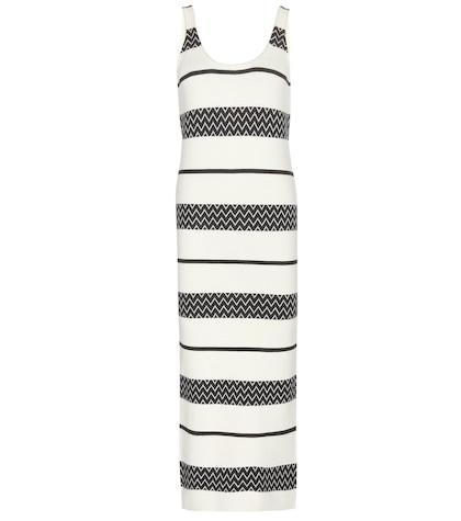 alice olivia female lilly striped knit dress