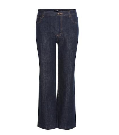 apc female sailor jeans