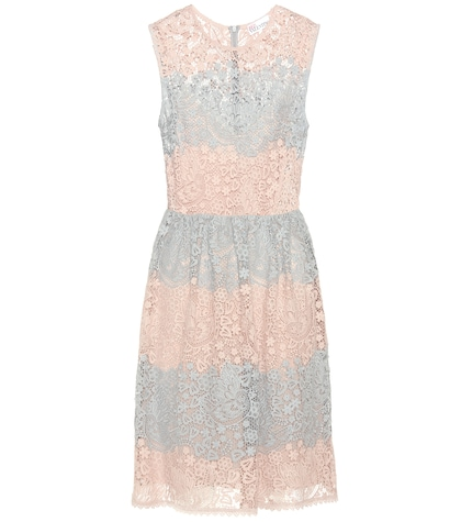 red valentino female lace dress