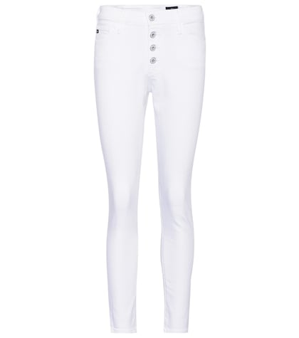 The Farrah high-waisted skinny jeans