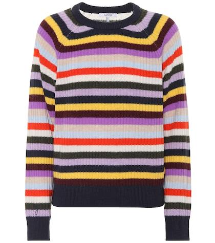 Mercer striped wool-blend sweater