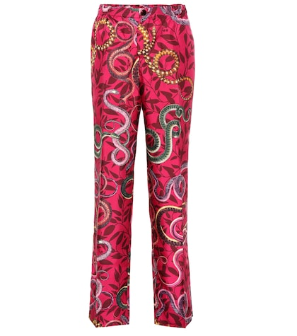 Etere silk pajama pants