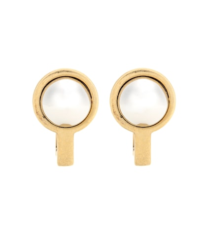 balenciaga female clipon earrings