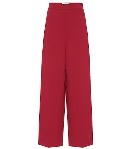 Pantalon en crêpe de laine Ward