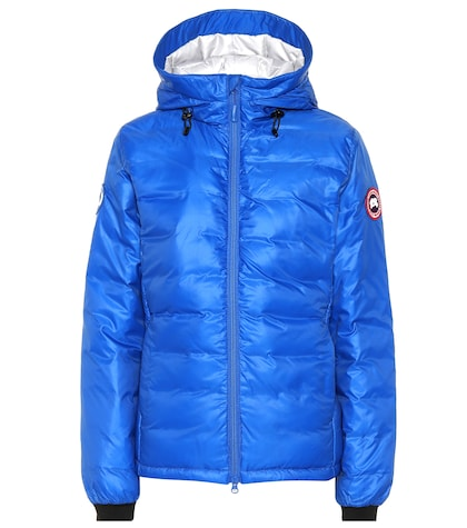PBI Camp hooded down jacket