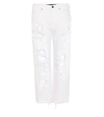 alexander wang female wisteria distressed jeans