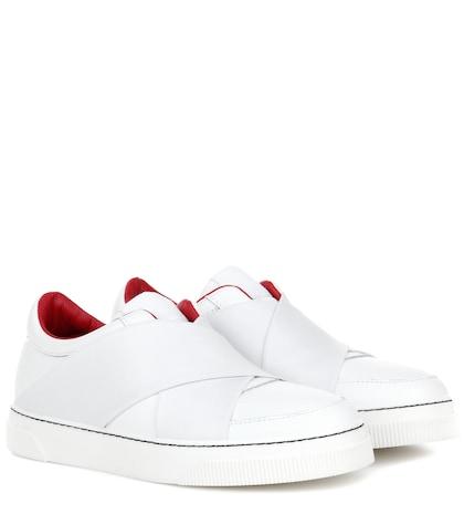 proenza schouler female leather sneakers