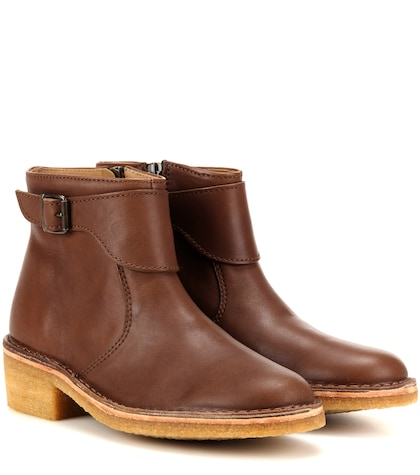 apc female 211468 leonie leather ankle boots