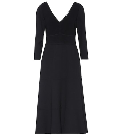 agnona female agnona stretchwool dress
