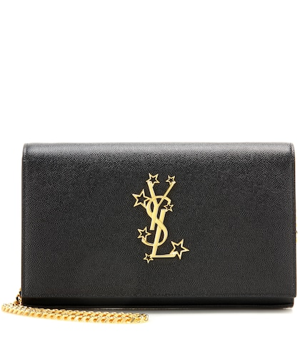 Monogram Chain Wallet Leather Shoulder Bag
