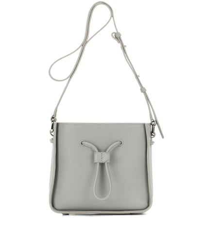 31 phillip lim female soleil mini leather bucket bag