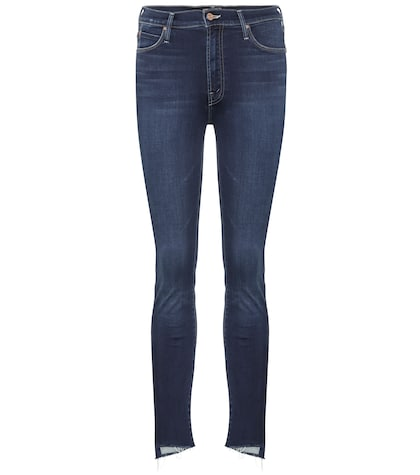 Stunner Zip Ankle Step Fray jeans