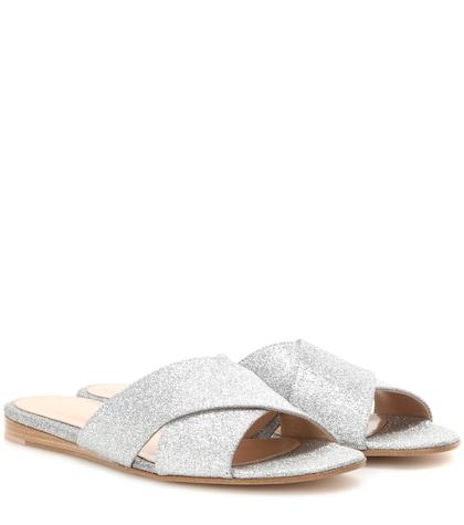 Glittered Sandals