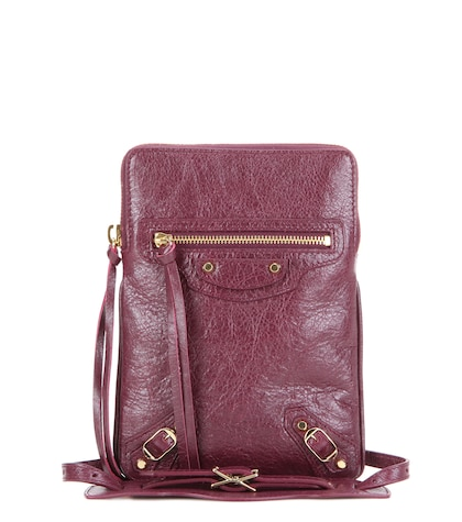 Classic Phone Holder leather shoulder bag