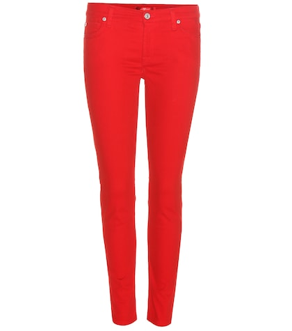 7 for all mankind female the skinny crop jeans