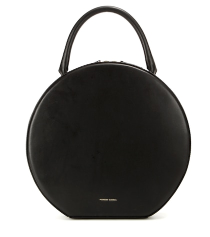 Circle Leather Handbag