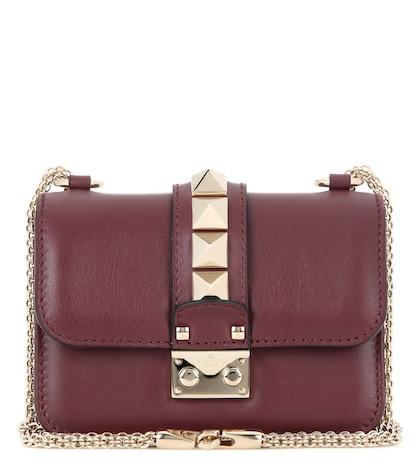 Valentino Garavani Lock Mini leather shoulder bag