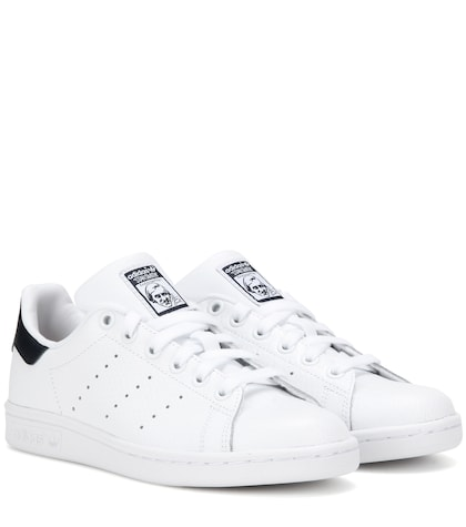 adidas originals female 45883 stan smith leather sneakers