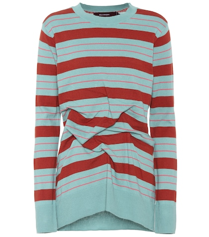 Coralie striped cotton sweater