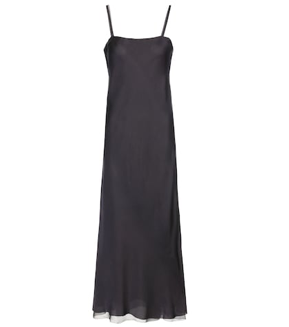 Roel Silk Slip Dress