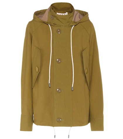 marni female cottonblend jacket