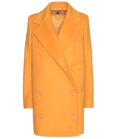 stella mccartney female edith woolblend coat