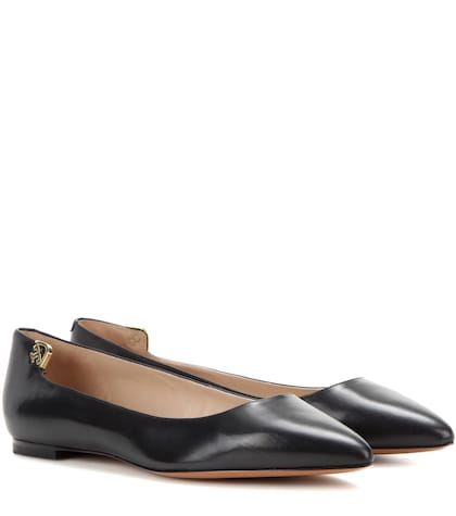 Elizabeth Leather Ballerinas