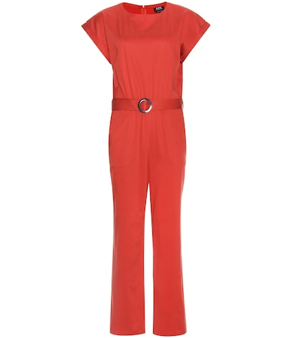 Stretch-cotton Jumpsuit