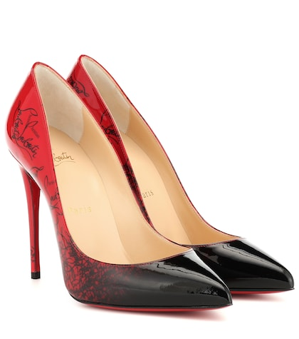 best service 703f2 32357 Eklectica 120 Metallic Leather Pumps - Christian Louboutin ...