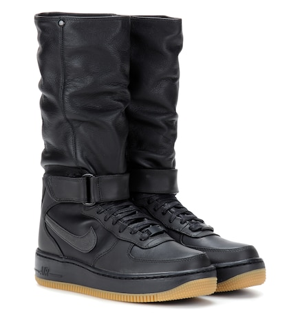 Nike Air Force 1 Upstep Warrior Leather Boots