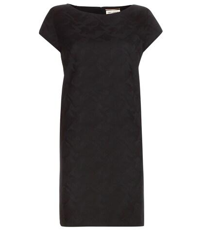 Jacquard Wool Mini Dress
