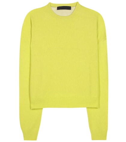 haider ackermann female wool and cashmereblend sweater